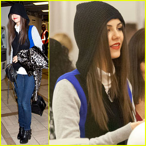 Victoria Justice: Watch Max Schneider's New 'Mug Shot' Music Video!