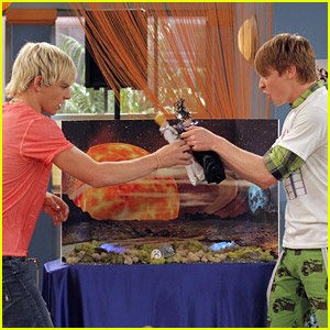 Ross Lynch & Calum Worthy Play With Dolls...We Mean Action Figures!