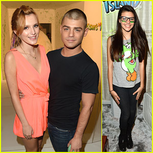 Bella Thorne & Garrett Clayton: Yoshi's Celebrity Egg Decor