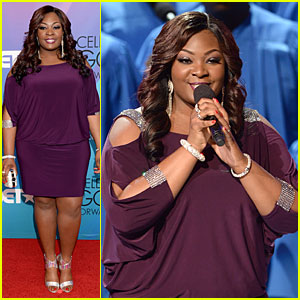 Candice Glover Performs at BET Celebration of Gospel 2014