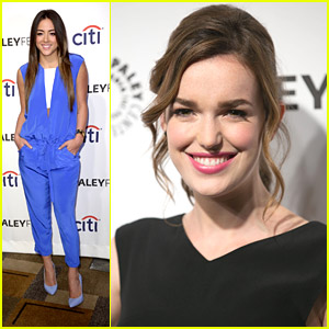 Chloe Bennet & Elizabeth Henstridge: 'Agents of S.H.I.E.L.D.' Panel at Paleyfest 2014