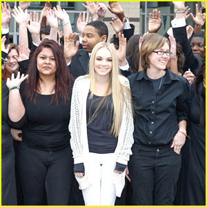 Danielle Bradbery: Music In Our Schools Stop at Anitoch High School in Tennessee