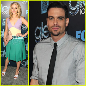 Dianna Agron & Mark Salling: Glee '100'th Celebration - What Happened Between Quinn & Puck?