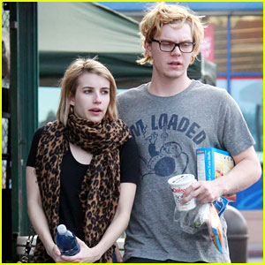 Evan Peters: Emma Roberts' Crush During 'Adult World' Filming was Mutual