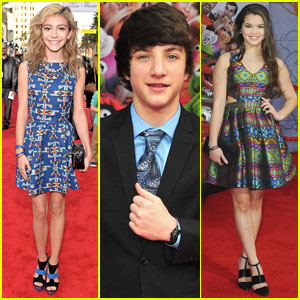 G Hannelius & Jake Short: 'Muppets Most Wanted' Premiere