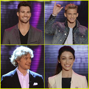 James Maslow & Cody Simpson: 'GMA' with Meryl Davis & Charlie White for 'DWTS'!