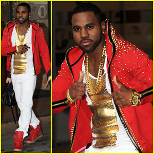 Jason Derulo Visits BBC Radio For 'Talk Dirty' Promo!