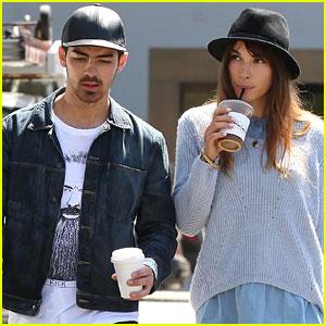 Joe Jonas & Blanda Eggenschwiler Are All About Hats