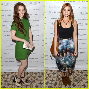 Kaitlyn Dever & Allie Gonino: Ted Baker Launch Party Pics!