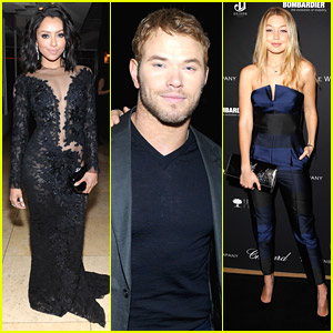 Kat Graham: Pre-Oscar Party Girl with Kellan Lutz & Gigi Hadid