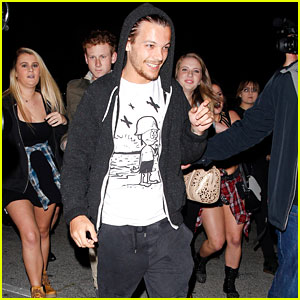 Louis Tomlinson Gets a New Cool Tattoo on His Left Arm!