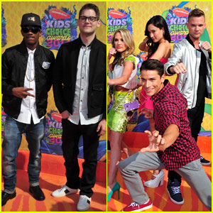 MKTO & 'Power Rangers Super Megaforce' Cast Take On the Red Carpet at Kids' Choice Awards 2014!