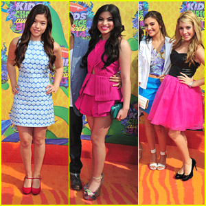 Piper Curda & Every Witch Way Cast - Kids' Choice Awards 2014!