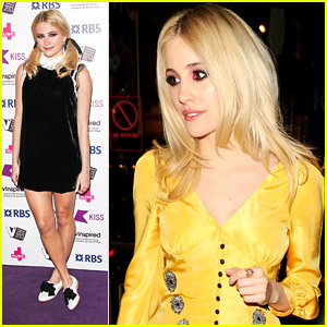 Pixie Lott Channels Wednesday Addams for vInspired National Awards