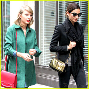 Taylor Swift Grabs Lunch with Model Lily Aldridge!