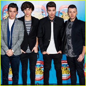 Union J Show Their Support For X Factor Musical 'I Can't Sing'!