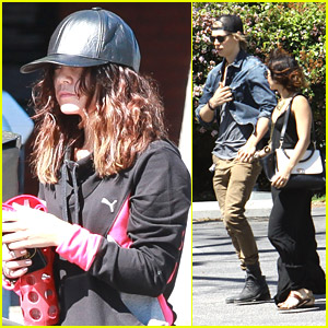 Vanessa Hudgens: Sunday Fitness Class Before Church with Austin Butler