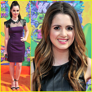 Vanessa & Laura Marano - Kids' Choice Awards 2014 Orange Carpet