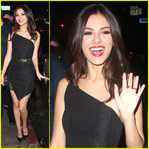 Victoria Justice Celebrates 21st Birthday with Celeb Friends