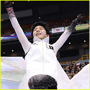 Japan's Yuzuru Hanyu Defends Olympic Title; Wins Mens Title at Worlds 2014