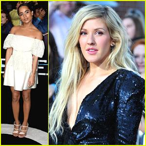 Zoe Kravitz & Ellie Goulding: 'Divergent' Premiere Pics!