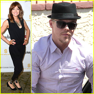 Amy Purdy Reunites With Derek Hough After Cedars Sinai Luncheon 2014