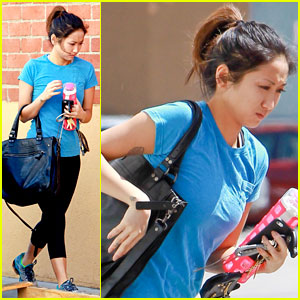 Brenda Song: Post-Birthday Workout Woman!