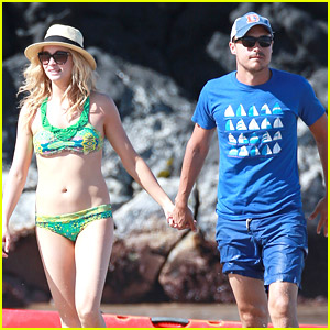 Candice Accola & Joe King: Paddleboarding For Two!