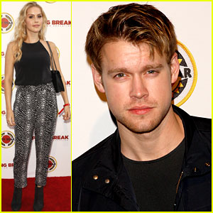 Claire Holt & Chord Overstreet Glam Up the City Year Los Angeles Event