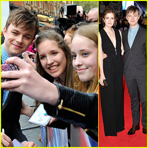 Dane DeHaan: 'Amazing Spider-Man 2' Premiere with Wife Anna Wood!