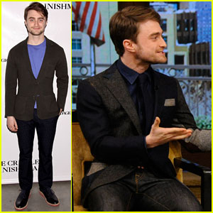 Daniel Radcliffe Really Makes Us Want to See Him in 'The Cripple of Inishmaan'