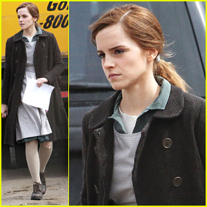 Emma Watson Celebrates 24th Birthday on 'Regression' Set