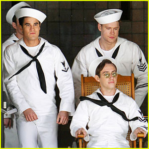 'Glee' Guys Are the Hottest Sailors We've Ever Seen - See the Pics!