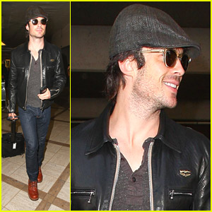 Ian Somerhalder: 'Good Morning Beautiful, Southern Calif