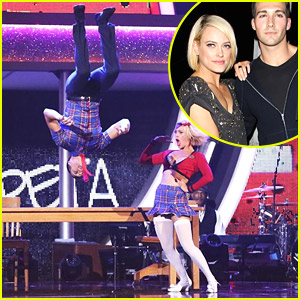 James Maslow & Peta Murgatroyd Grab Sushi After 'DWTS' Jive
