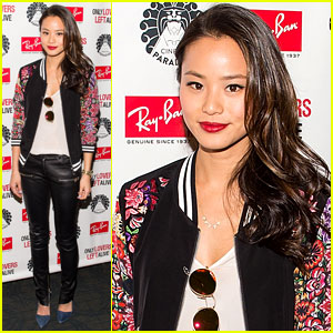 Jamie Chung Checks Out 'Only Lovers Left Alive' Screening in NYC