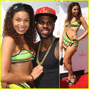Jordin Sparks & Jason Derulo Open Up TAO Beach Season in Vegas
