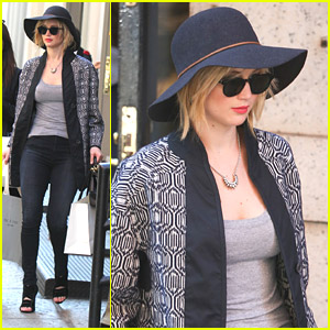 Jennifer Lawrence Gets Her Shop On at Rag & Bone