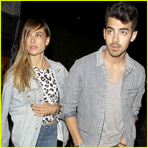 Joe Jonas & Blanda Eggenschwiler: Haus Of Strauss Hot Couple!
