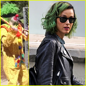 Katy Perry Shops in SoHo Before 'Birthday' Video Premiere