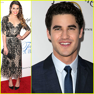 Lea Michele & Darren Criss: 'Taste For A Cure' Twosome