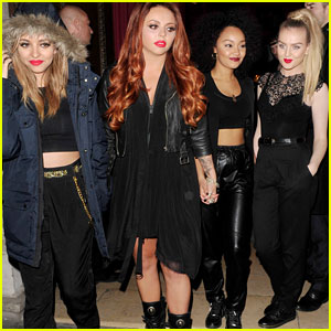 Little Mix Hangs Out with Some Lucky Fans!