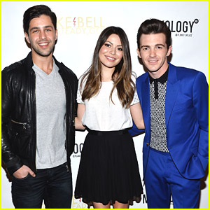 Miranda Cosgrove: 'Drake & Josh' Reunion at Drake Bell's Album Release Party!