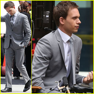 Patrick J. Adams Starts 'Suits' Season 4 Filming in Toronto