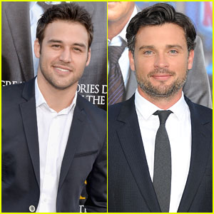 Ryan Guzman & Tom Welling: 'Draft Day' Premiere Dudes