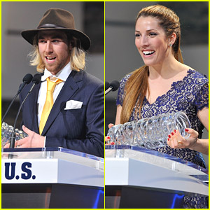 Sage Kotsenburg & Erin Hamlin: Big Winners at #BestofUs Awards 2014!