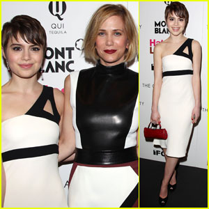 Sami Gayle Hangs with Kristen Wiig at 'Hateship Loveship' Screening
