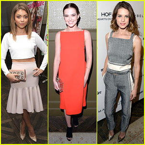 Sarah Hyland & Lyndsy Fonseca Celebrate Marie Claire's May Cover Stars