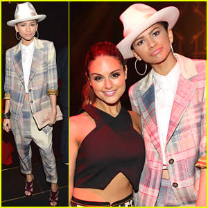 Zendaya: White Hat Hottie at ELLE's Women In Music 2014