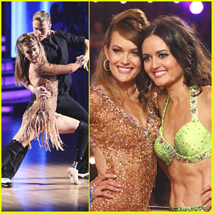 Amy Purdy Snaps Selfie with Danica McKellar Before Placing 2nd During 'DWTS' Finale